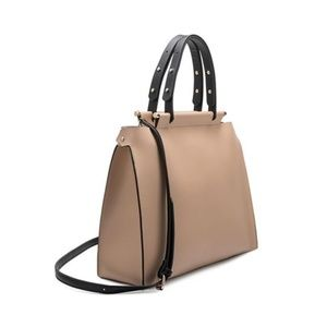 Isabella Tote in Nude or Black